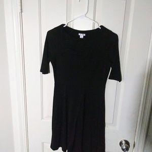 2/$10 Black skater dress